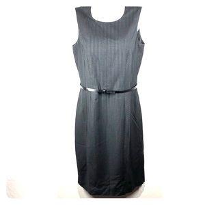 Calvin Klein black pinstripe dress size 6